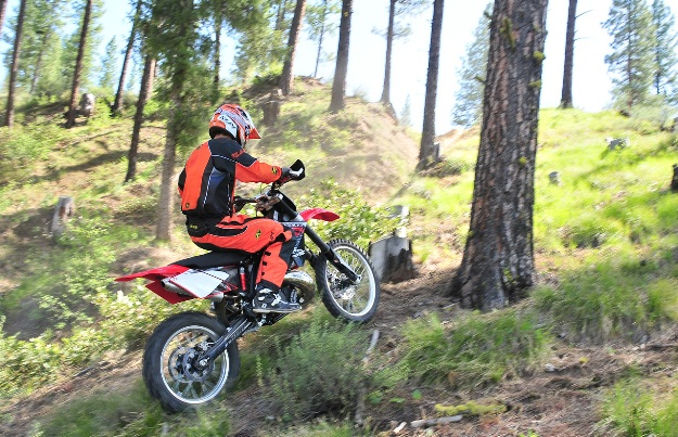 Test Gas Gas EC 300 F Racing 2013: The excursion-enduro 4-time according to Gas Gas