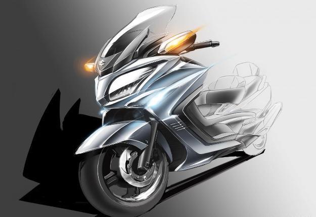 Suzuki Burgman 650 2013: The maxi scooter GT bestseller is modernized