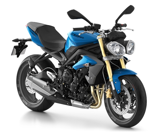 News motor bike 2013: Triumph Daytona 675 and Street Triples 675 evo, they arrive…