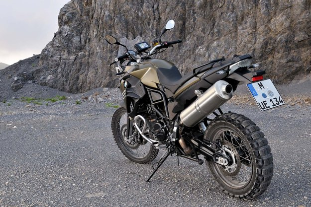 BMW F 800 GS: The official BMW accessories
