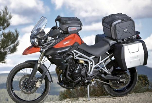 triumph tiger 800 xc accessories - bikes catalog