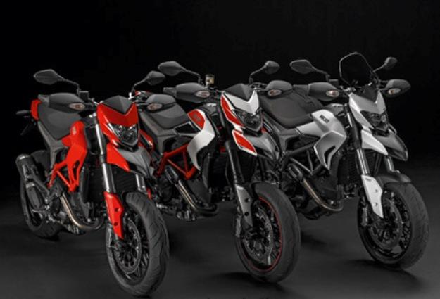 News motor bike 2013: Ducati Hypermotard, Hypermotard SP and Hyperstrada
