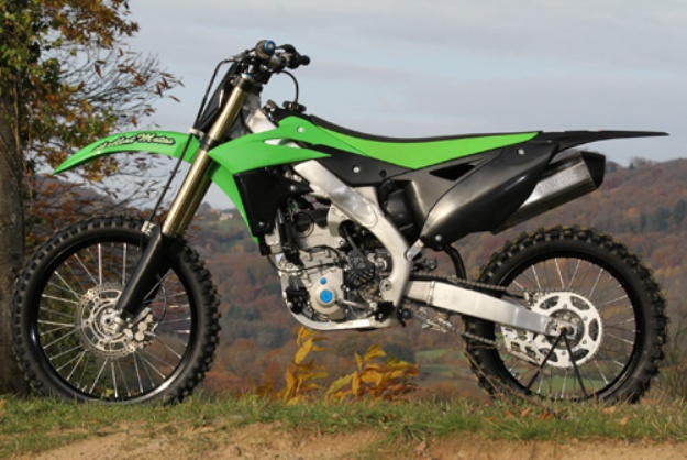 Kawasaki KX 250 F: Austrian of the Japanese women