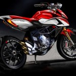 News motor bike 2013: First official image of MV Agusta Rival 800