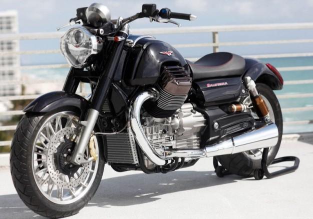 News motor bike 2013: Moto Guzzi California 1400, the legend is of return
