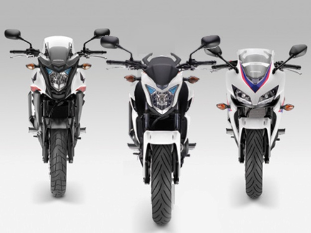 Honda CB 500 F, CB 500 X and CBR 500 R 2013: Tariffs and availabilities