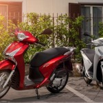 Honda SH 125i ABS 2013 First look