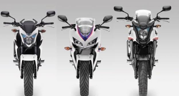 News motor bike 2013: Honda CB 500 F, CB 500 X, CB 500 R, return in strength!