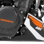 News motor bike 2013 with the EICMA: KTM 125 Duke ABS, slip under control