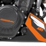 EICMA KTM 200 Duke ABS 2013 in ON/OFF Mode