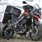 Triumph Tiger 800 XC: The official Triumph accessories
