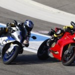 BMW S1000RR and Ducati Panigale S