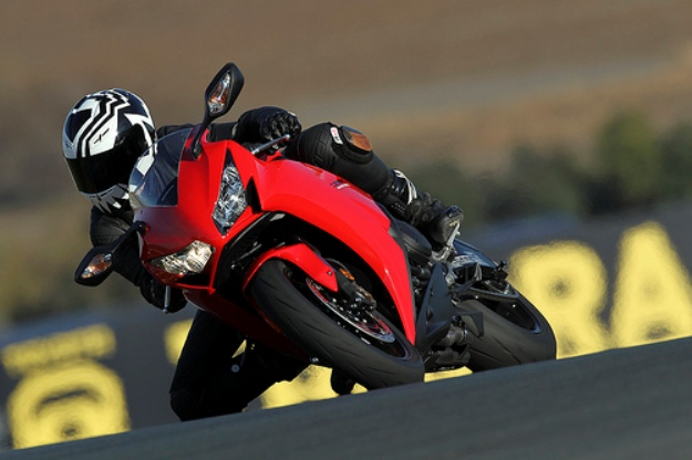 Test of Honda CBR1000RR model 2012