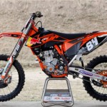 Test KTM 250 SXF 2012 Jeffrey Herlings
