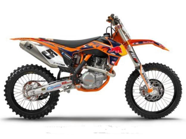 News motorcycle any cross-country race 2013: KTM 450 SX-F Factory Edition