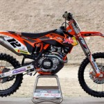 Test KTM 450 SXF 2012 Beefy, 450 Cross Race of Max Nagl