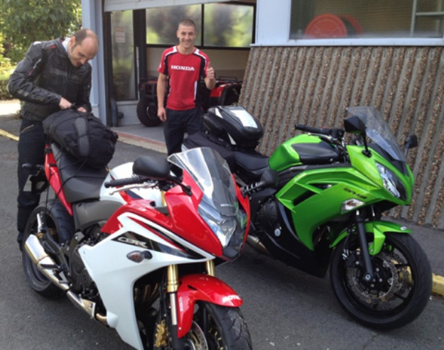 Honda CBR600F Vs Kawasaki er6f: two road motorcycles step expensive?