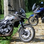BMW F700GS vs Triumph Tiger 800