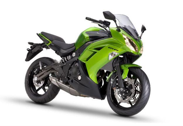 Test Kawasaki er6f 2012: and for a few Euros moreover…