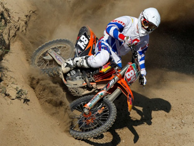Test KTM 250 SXF 2012 Jeffrey Herlings: The King's Cross motorcycle silica
