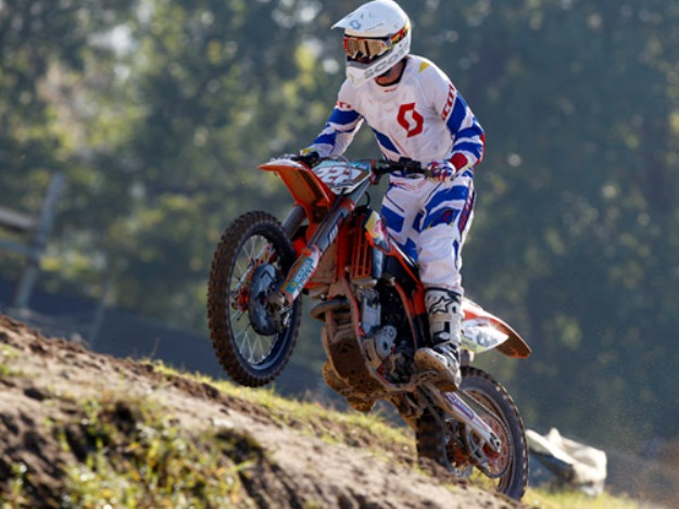 Test KTM 350 SX-F 2012 Antonio Cairoli: One rolled on world champion MX1