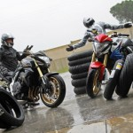 Comparative Guide of sport GT motorcycles tires: How we tested 6 references on wet