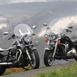 Comparative Harley-Davidson 1690 Road King vs Moto Guzzi 1400 California Touring: Two kings for a crown