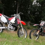 Test Honda CR500R vs CR500RS