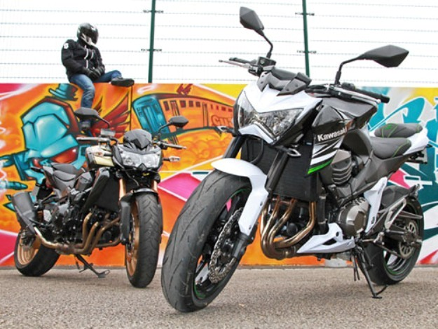 Comparative motorcycles Kawasaki Z800 vs Z750R: What of the mouth?