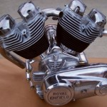 News motorcycle 2013: Royal Enfield Musket 1000 V-twin