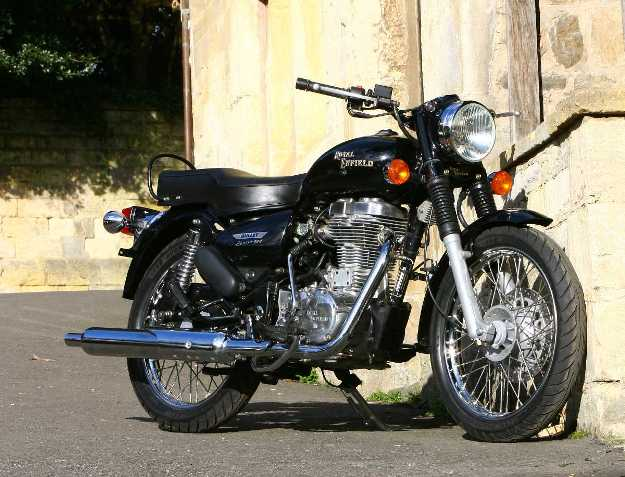 Test Royal Enfield 500 Electra: The Indian alternative