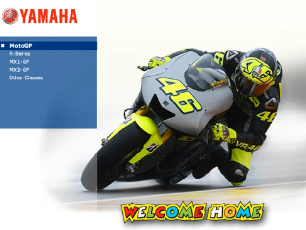 Moto GP: The TEAM Yamaha celebrates the return of Rossi