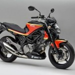 Suzuki Gladius Barry Sheene Replica 2013