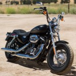 Test Harley Davidson Sportster XL 1200 Custom CB 2013: Belle et rebelled
