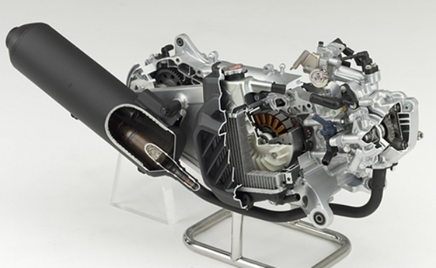 "Honda Lead 125 ""idling stop"" (stop & start) ESP 2013: Rise in range"