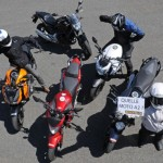 Comparative motorcycles Honda CB500F vs Honda NC700S vs Kawasaki Z800e vs Suzuki SFV 650 Gladius vs Yamaha XJ6 N: Which is the best A2 motorcycle?