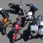Honda CB500F vs Honda NC700S vs Kawasaki Z800e