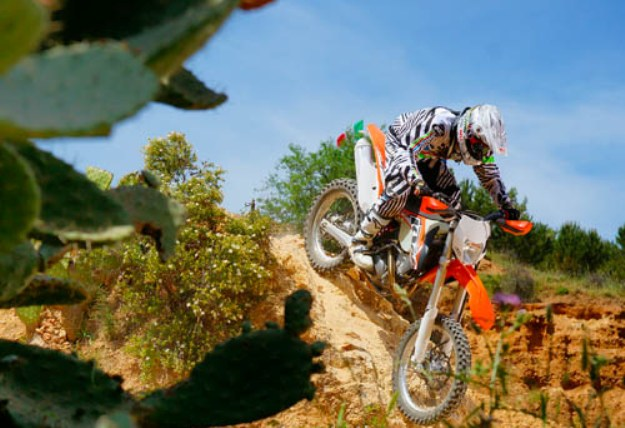 Test KTM 250 EXC-F 2014: The enduro next generation!