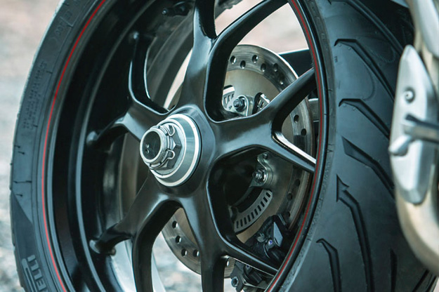 tyre new Triumph Tiger Sport