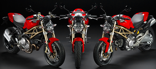 Ducati Monster 696 Anniversary 2013