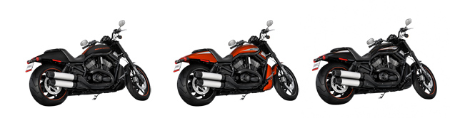 2014 Harley Davidson V Rod Night Rod color