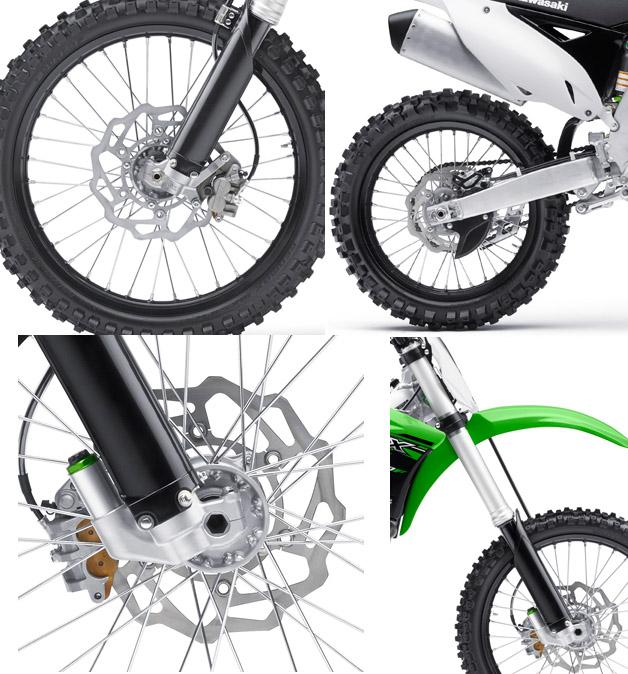 Kawasaki KX450F tire