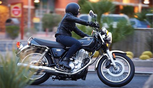 new 2015 Yamaha SR400