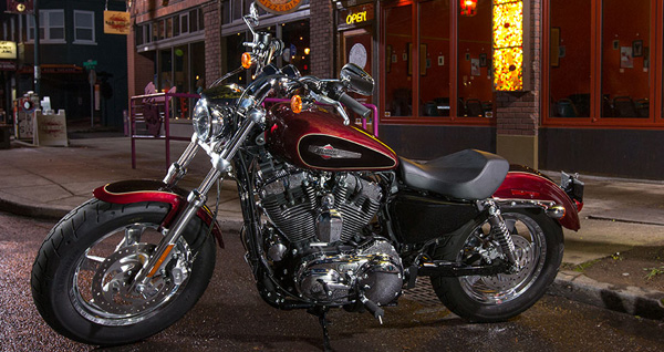 2015 Harley Davidson Sportster 1200 Custom