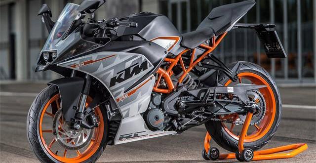 New Fast 2015 KTM RC 390 Race Motorbike