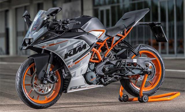 KTM RC 390 2015 pics