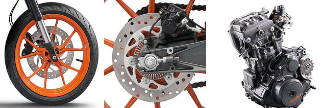 2015 KTM RC 390 engine