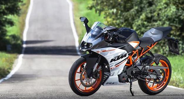 new KTM RC 390 2015