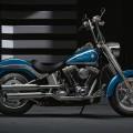 2016 Harley davidson fat boy blue