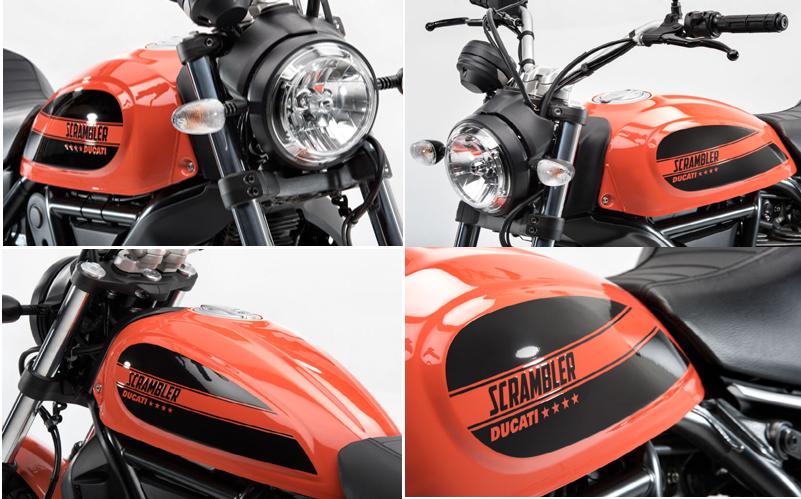 Ducati scrambler 2016 design